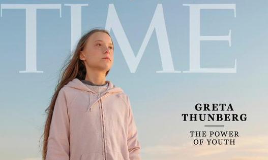 """Time bị chỉ trích vì chọn Thunberg là """"Nhân vật của năm"""""""