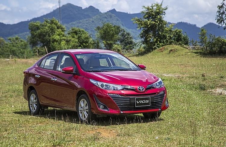 Vios, mẫu xe bán chạy nhất của Toyota, lăn bánh tại Việt Nam.