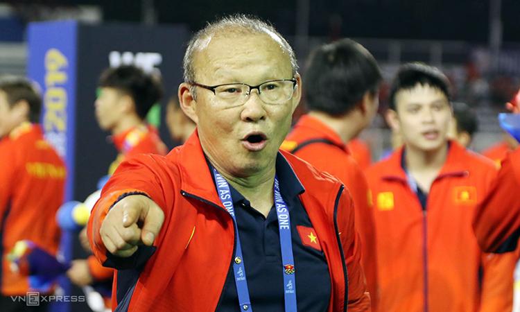 HLV Park Hang-seo bắt tay ngay vào kế hoạch chinh phục giải U23 châu Á 2020, ngay sau SEA Games 30. Ảnh: Lâm Đồng.