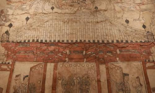 Bích họa 1.500 năm tuổi trong lăng mộ Trung Quốc