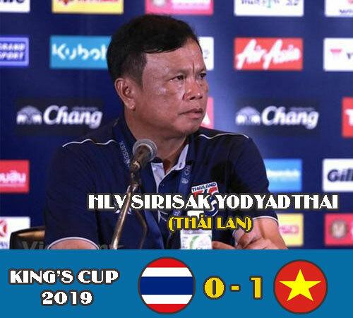 HLV Sirisak Yodyadthai bị tước quyền sau khi thua Việt Nam và Ấn Độ tại King's Cup.