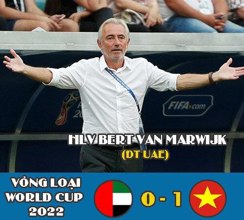 HLV của UAE mất việc sau thất bại trước đội tuyển Việt Nam.