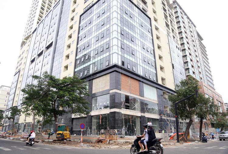 Khu đất đường Trần Hưng Đạo, TP Nha Trang được tỉnh Khánh Hòa giao doanh nghiệp thực hiện dự án BT. Ảnh: Xuân Ngọc.