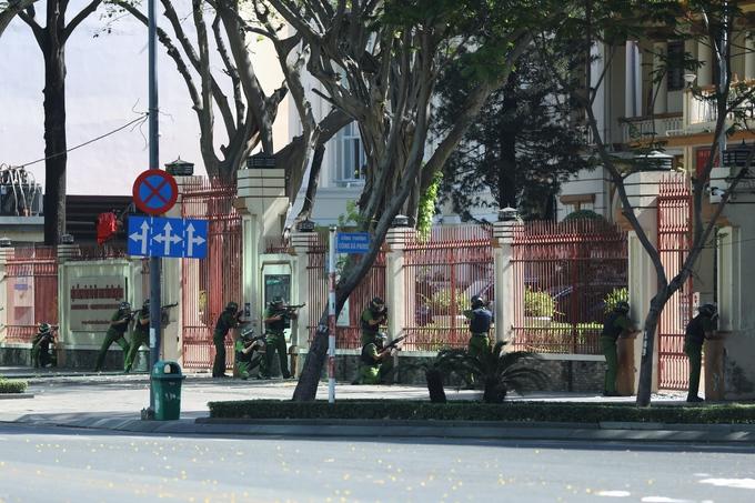 TP HCM diễn tập chống khủng bố, gây rối an ninh