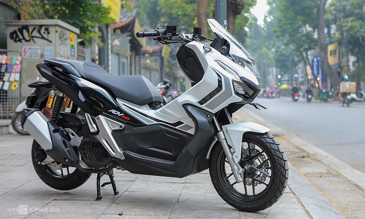 Honda ADV 150 ABS giá 90 triệu tại Hà Nội. Ảnh: Lương Dũng.