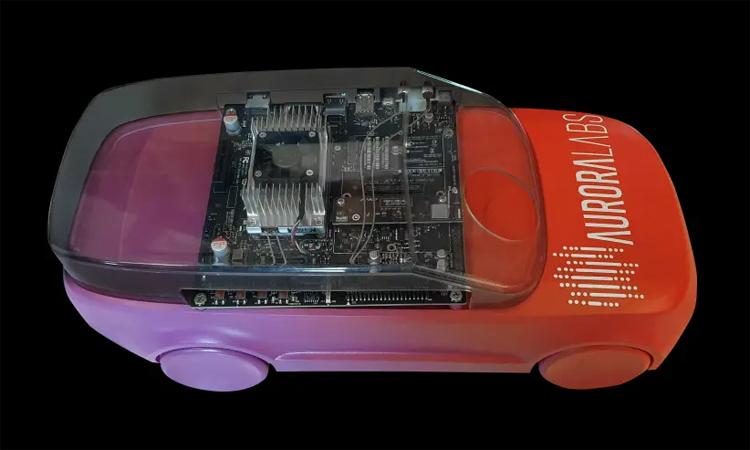 Ôtô với những phần mềm hỗ trợ việc tự sửa chữa. Ảnh: Aurora Labs