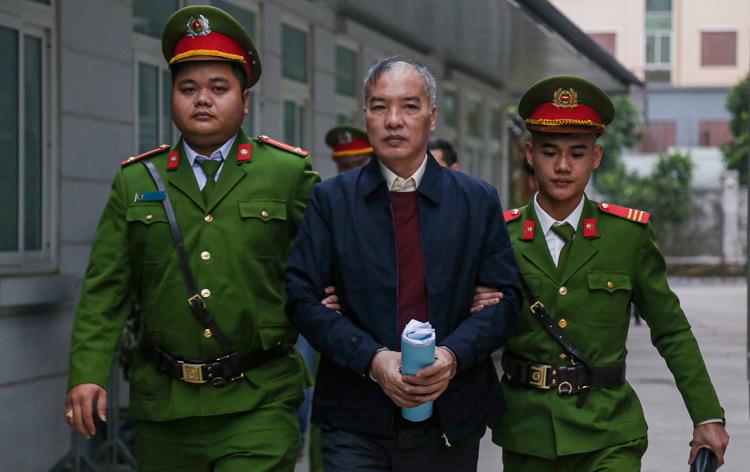 Cựu chủ tịch MobiFone Lê Nam Trà. Ảnh: Giang Huy