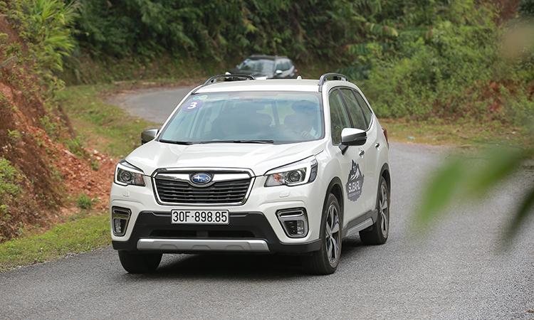 Subaru Forester - xe dành cho người thích lái
