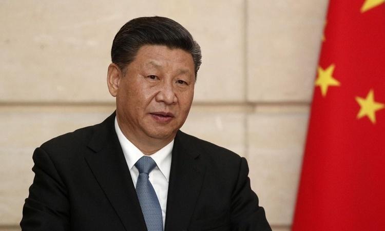 Chủ tịch Trung Quốc Tập Cận Bình tại một cuộc họp báo ở Pháp hồi tháng 3. Ảnh: Reuters.