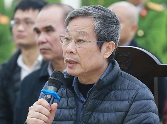 Ông Nguyễn Bắc Son tại phiên tòa. Ảnh: TTXVN