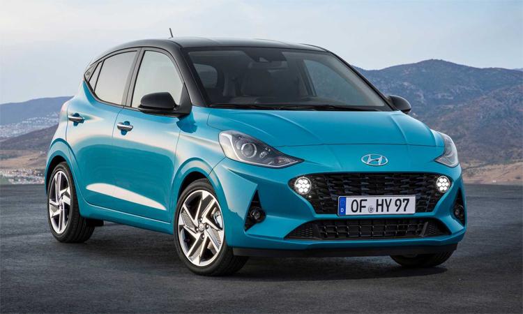 i10 thế hệ mới sẽ bán tại Anh từ 18/1/2020. Ảnh:Hyundai