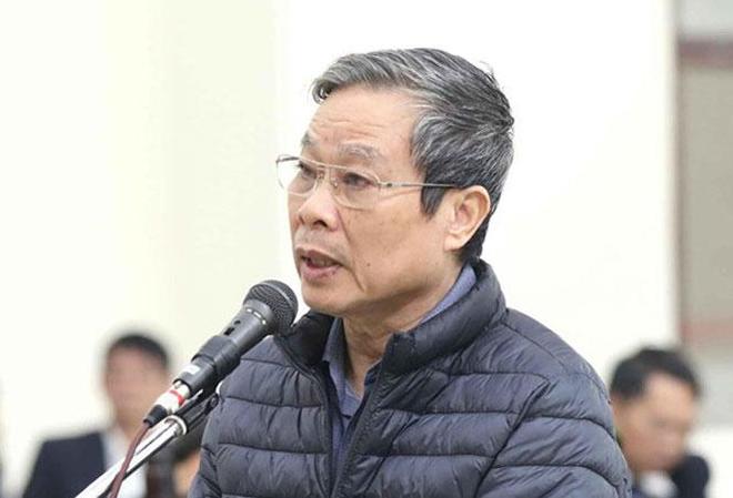 Ông Nguyễn Bắc Son trong phiên tòa ngày 18/12. Ảnh: TTXVN