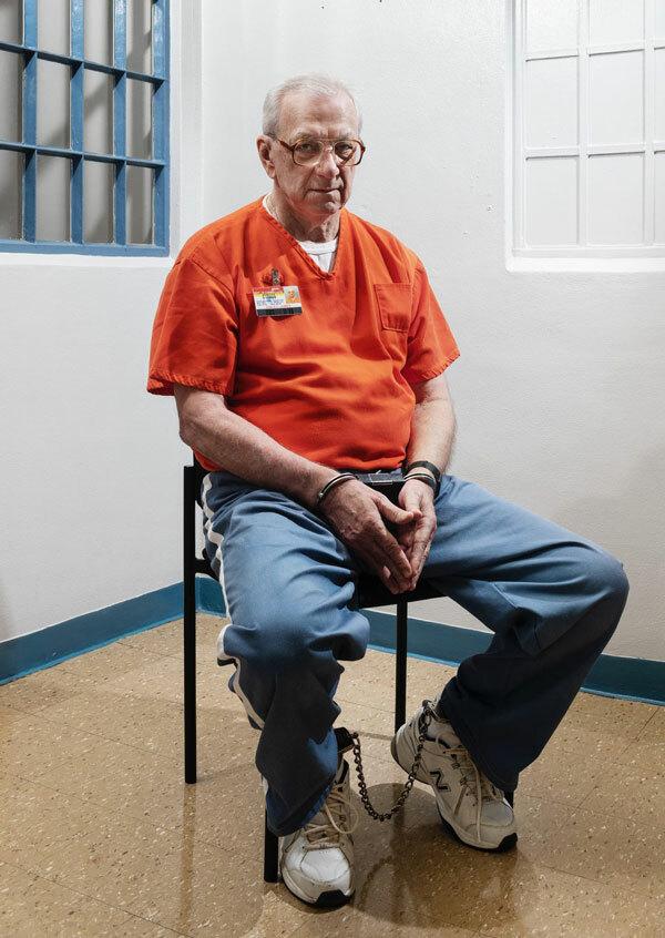 James Dailey, tử tù bị kết án nhờ lời khai của Paul và đang chờ thi hành án, cho biết hai người chưa bao giờ nói chuyện. Ảnh: Eli Durst/The New York Times.