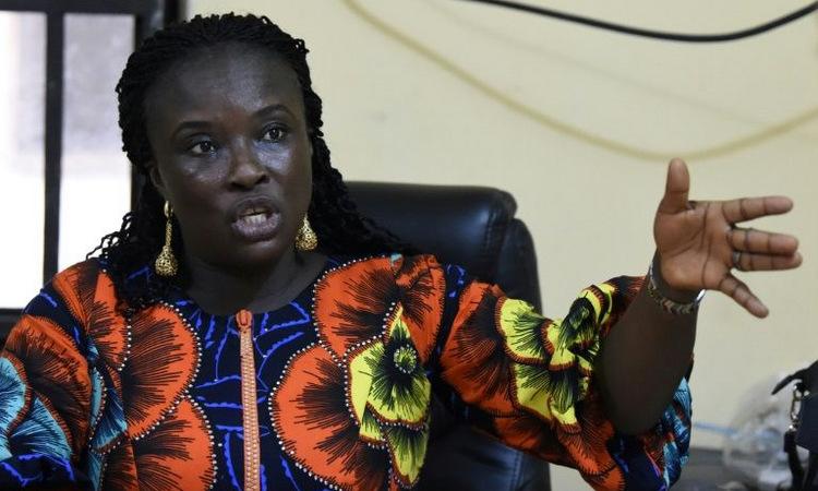 Doris Onyeneke trong cuộc phỏng vấn hôm 20/12. Ảnh: AFP.