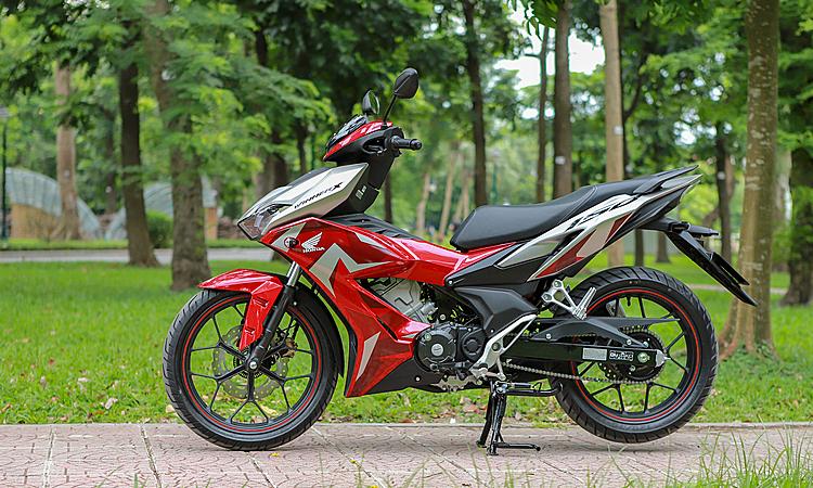 Honda Winner X trang bị phanh ABS, giá từ 46 triệu lăn bánh tại Hà Nội. Ảnh: Lương Dũng