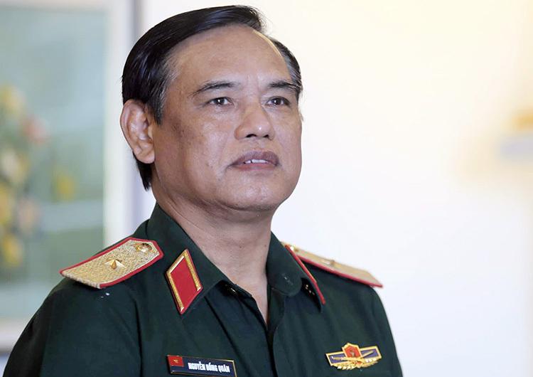 Thiếu tướng, GS.TS Nguyễn Hồng Quân, nguyên Phó Viện trưởng Viện Chiến lược Quốc phòng Việt Nam. Ảnh: Gia Chính.