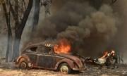 Cháy rừng thiêu rụi thị trấn ở Australia