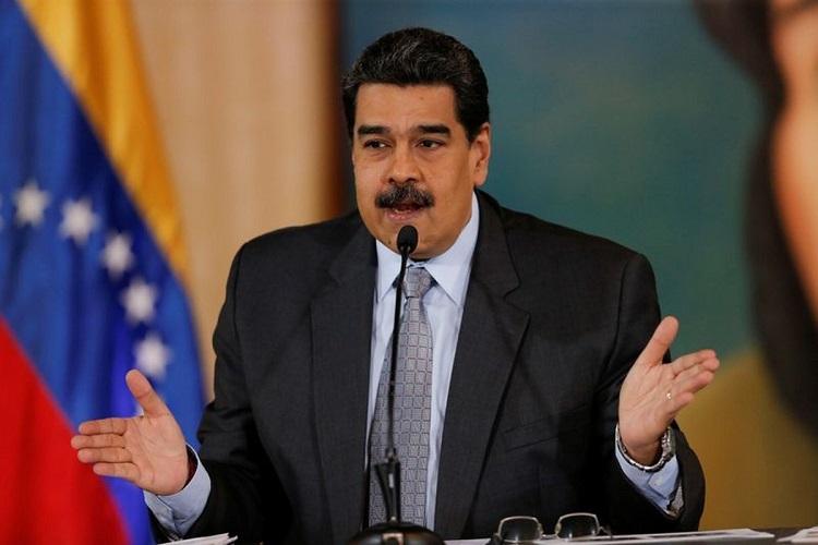 Tổng thống Maduro tại cuộc họp báo ở Caracas, Venezuela hôm 30/9. Ảnh: Reuters.