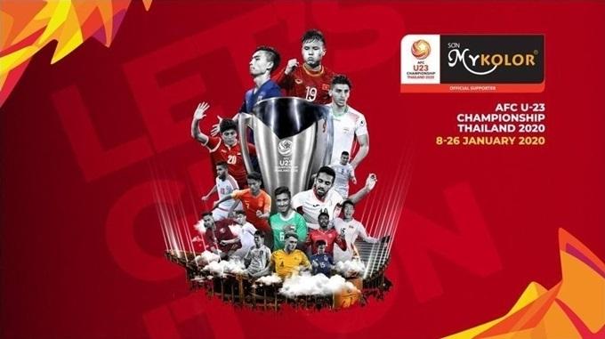 Thương hiệu Mykolor là nhà tài trợ Giải vô địch U23 châu Á 2020, diễn ra tại Thái Lan, từ 8/1 đến 26/1 năm sau.
