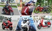 Loạt xe máy làm nóng thị trường Việt 2019