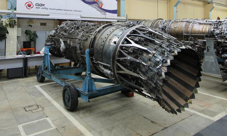 Động cơ Izdeliye 30 tại nhà máy của Saturn. Ảnh: Russia Defence.