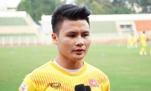 Quang Hải: 'Chấn thương của tôi đang phục hồi tốt'