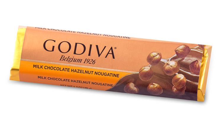 Bao bì kẹo sô-cô-la của Godiva luôn có dòng chữ Bỉ 1926. Ảnh: Godiva.