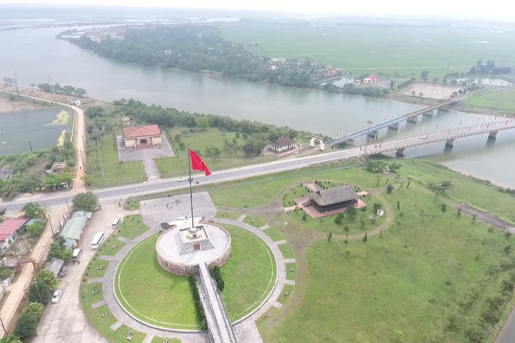 Khu di tích quốc gia đặc biệt đôi bờ Hiền Lương - Bến Hải là một trong những nơi để tổ chức Festival Hoà bình. Ảnh: Hoàng Táo
