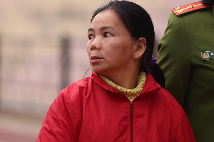 Bị cáo Bùi Thị Kim Thu. Ảnh: Phạm Dự