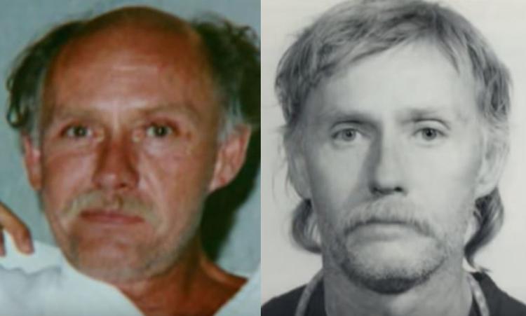 Chân dung nguyên gốc của Gene (trái) và sau khi phẫu thuật thẩm mỹ. Ảnh: Filmrise.
