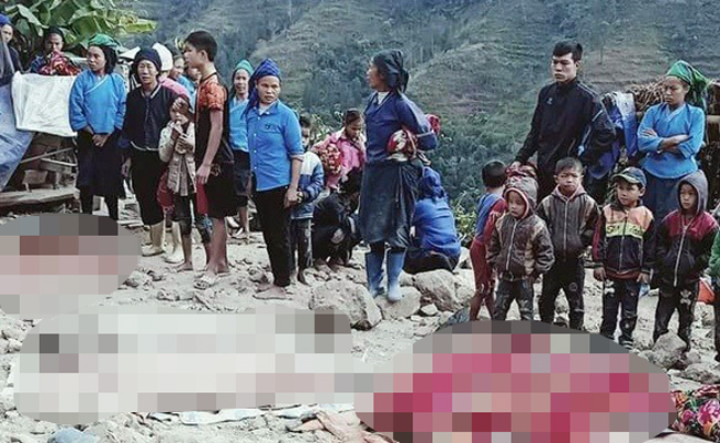 Sập nhà ở Hà Giang khiến 5 người chết