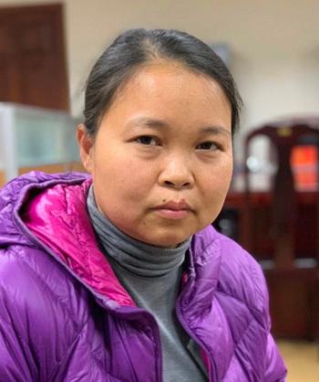 Bà Phạm Thị Thu Hường, Chánh Văn phòng Sở Kế hoạch và Đầu tư Hà Nội. Ảnh: Bộ Công an cung cấp.
