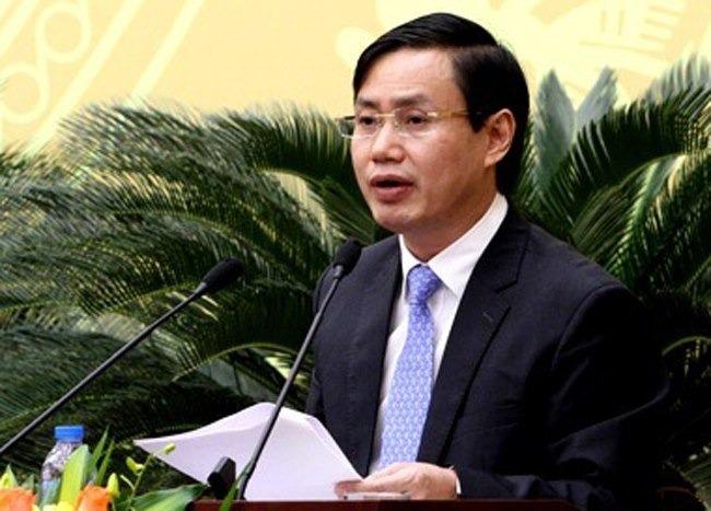 Ông Nguyễn Văn Tứ khi còn đương chức. Ảnh: X.H.