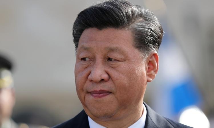 Chủ tịch Trung Quốc Tập Cận Bình tại Hy Lạp hồi tháng 11. Ảnh: Reuters.