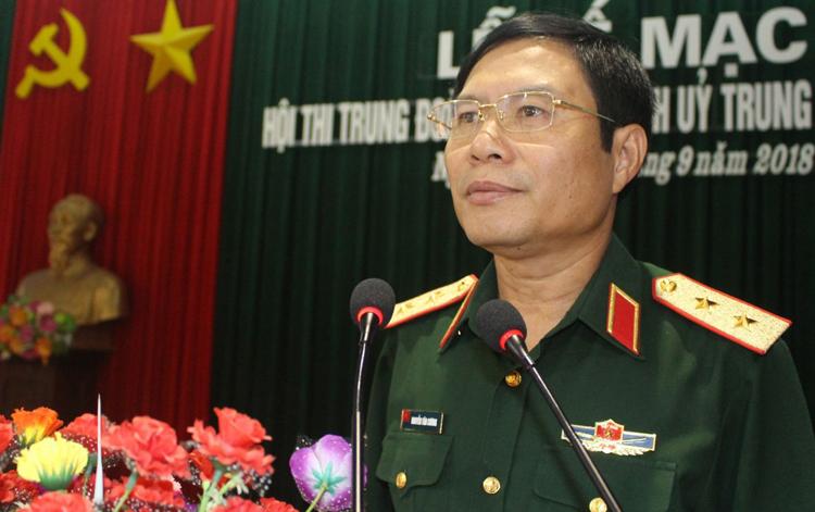 Trung tướng Nguyễn Tân Cương. Ảnh; Báo Quân khu 4