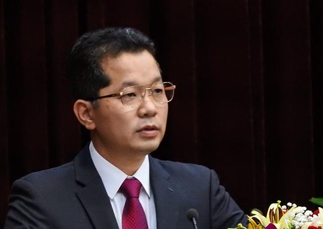 Ông Nguyễn Văn Quảng - tân Phó bí thư thường trực Thành uỷ Đà Nẵng. Ảnh: Thanh Tùng.