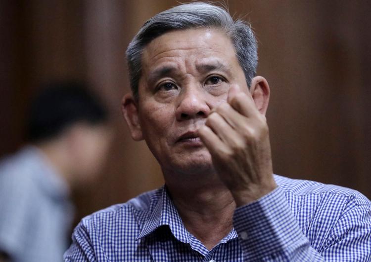Cựu Chánh văn phòng UBND TP HCM Lê Văn Thanh. Ảnh: Hữu Khoa.