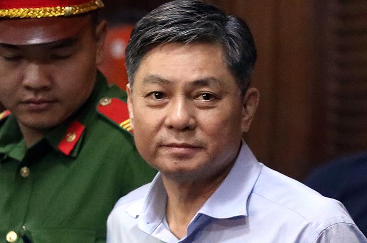 Ông Đào Anh Kiệt tại phiên xử hôm 30/12. Ảnh: Hữu Khoa.