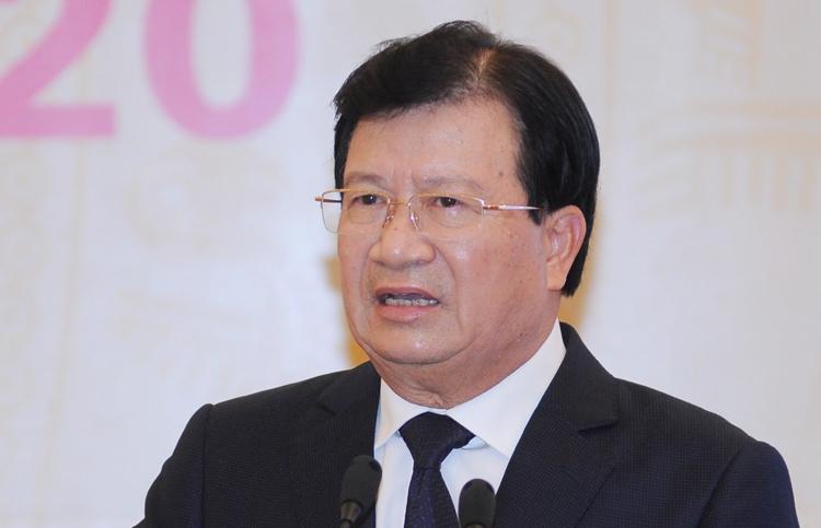 Phó thủ tướng Trịnh Đình Dũng. Ảnh: Anh Duy.