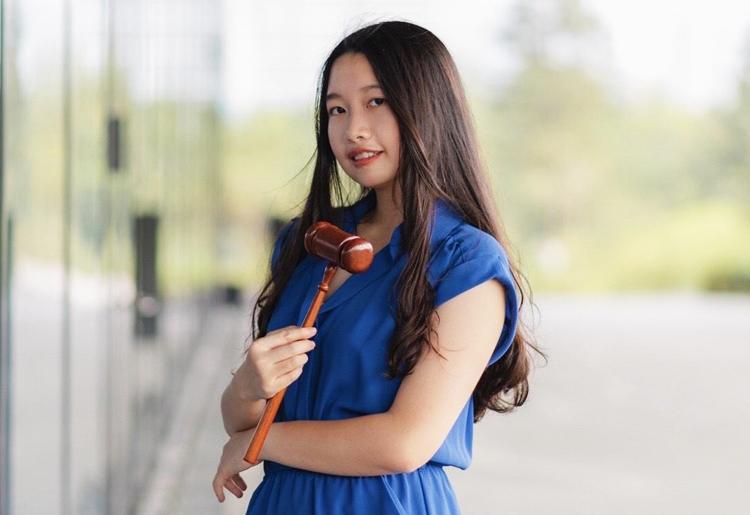 Minh Anh sẽ có bốn năm học ởĐại học Pennsylvania, Mỹ. Ảnh: Nhân vật cung cấp.