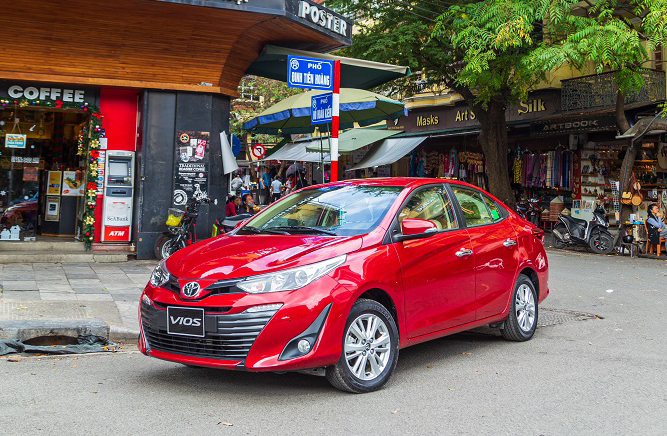 Toyota Vios phiên bản 2020.