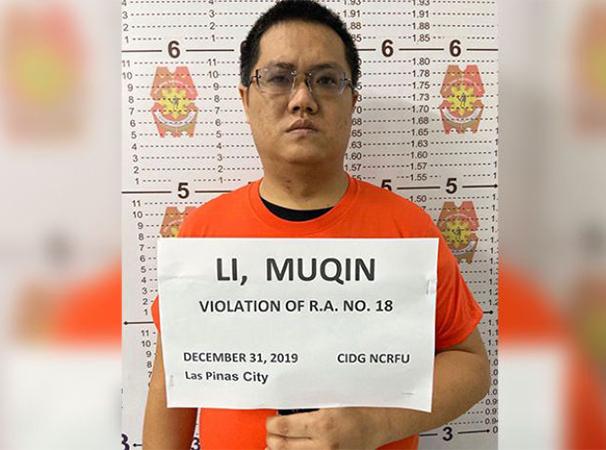 Nghi phạm bắt cóc hai phụ nữ Việt ở Philippines Li Mu Qin. Ảnh: NCRPO