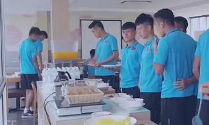 U23 Việt Nam đóng quân tại khách sạn 5 sao