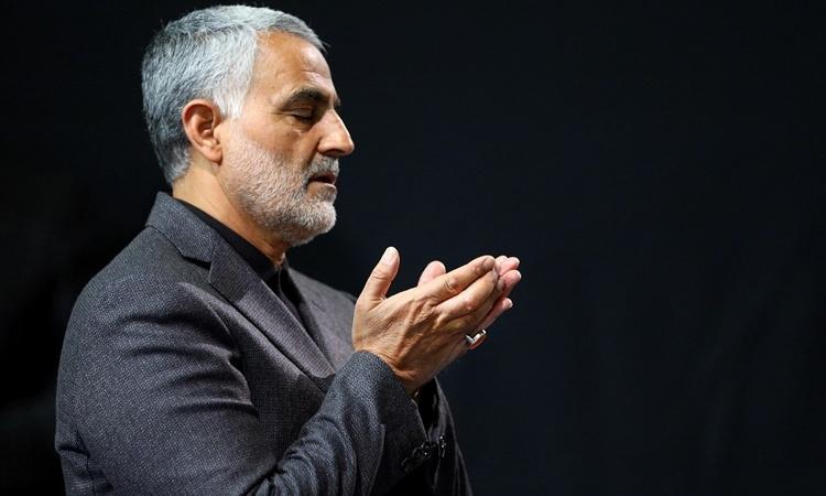 Tướng Qassem Soleimani tại Tehran tháng 3/2015. Ảnh: AFP.