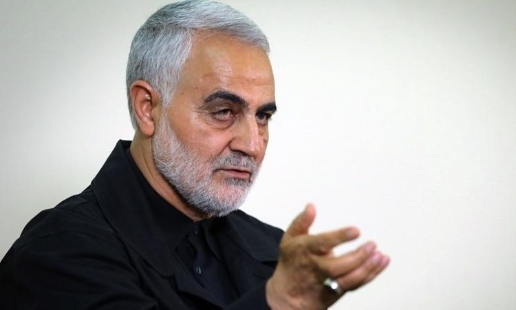Thiếu tướng Qasem Soleimani tại Tehran, Iran, hôm 1/10/2019. Ảnh: AFP.