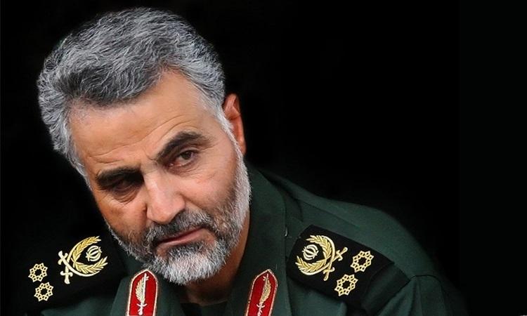 Thiếu tướng Vệ binh Cách mạng Hồi giáo Iran Qassem Soleimani. Ảnh: Middle East Monitor.