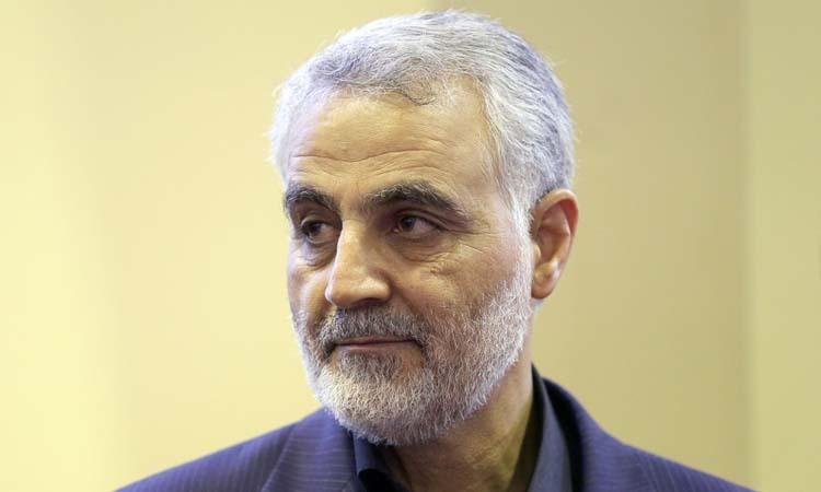 Tướng IranQasem Soleimani tại thủ đô Tehran hồi tháng 9/2013. Ảnh: AFP.