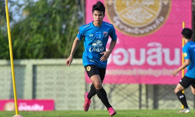 Airfan có thể chia tay U23 châu Á bởi chấn thương trong trận giao hữu vớiSaudi Arabia. Ảnh: Bangkok Post.