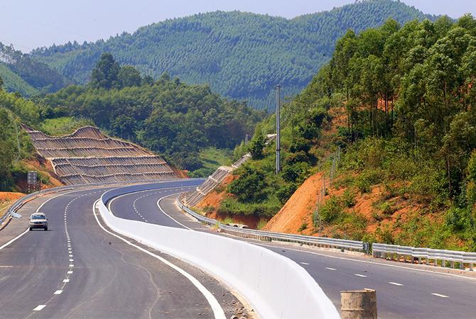 Cao tốc Bắc Giang - Lạng Sơn chưa khai thác chính thức. Ảnh: Bá Đô.