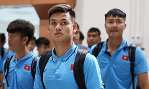 U23 đến Buriam chuẩn bị trận gặp UAE